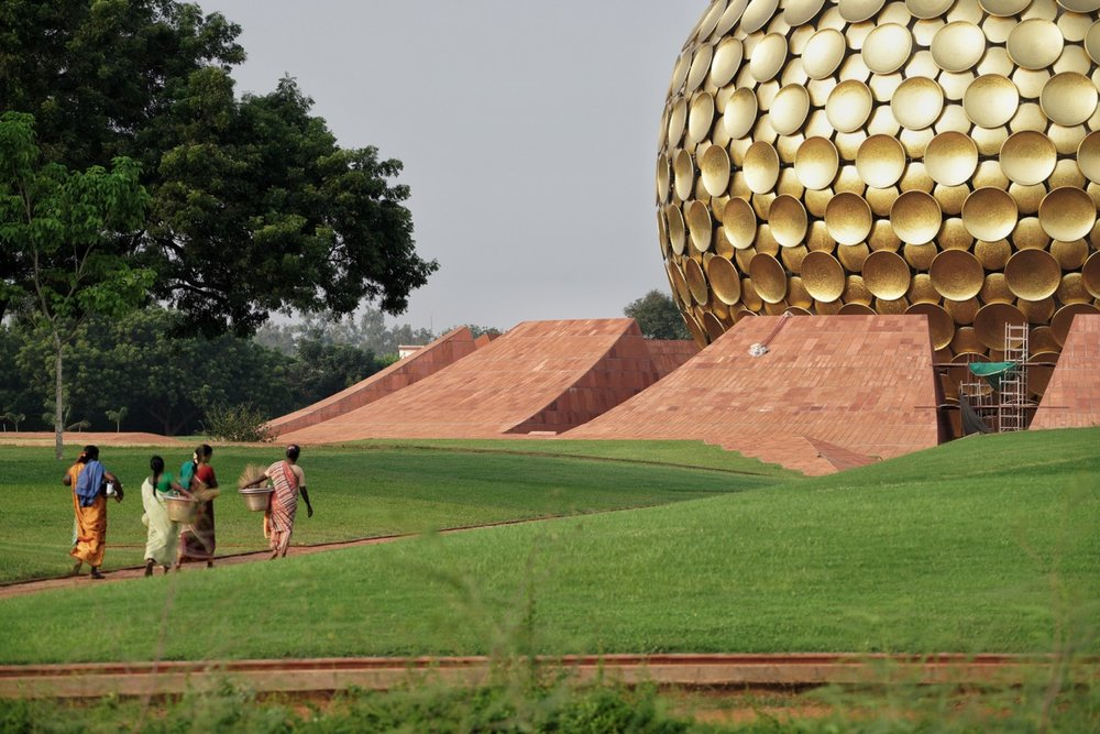 Matrimandir - the soul of Auroville