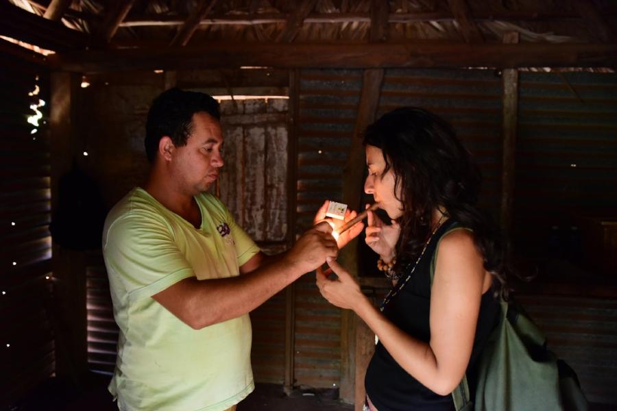 Plantatie de tutun in Vinales