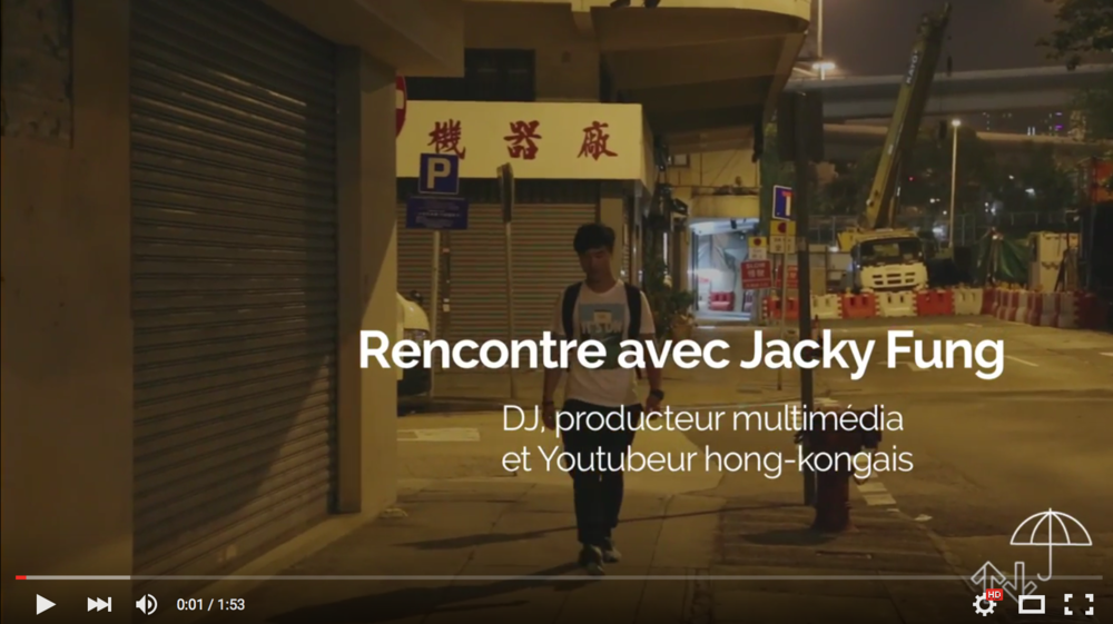 Jacky Fung Dj Youtubeur à Hong-Kong