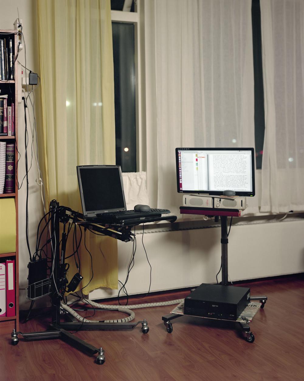 Conspiracy Theorist's Desk, Reykjavík