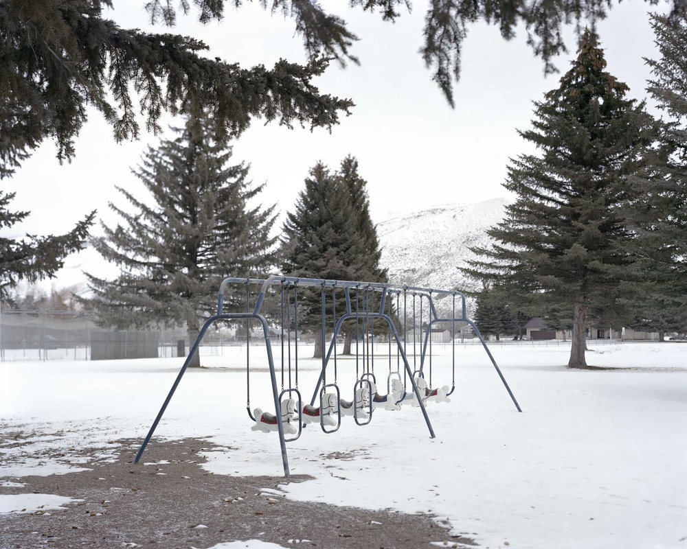 Empty Swingset, 2012, Oregon