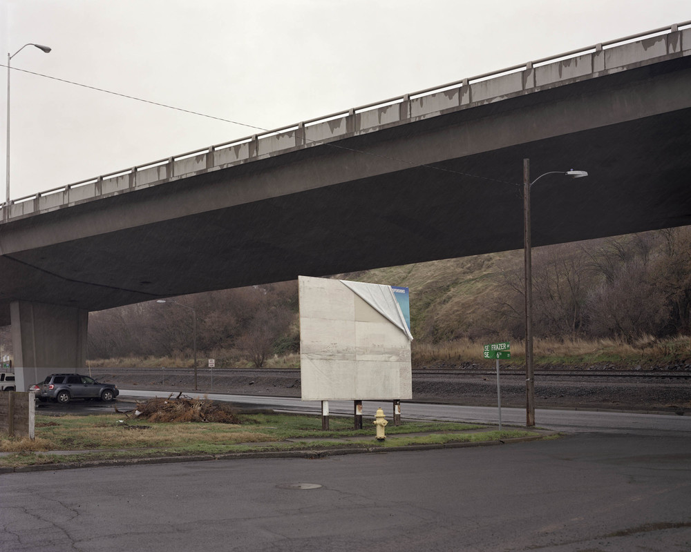 Empty Billboard, Oregon, 2013