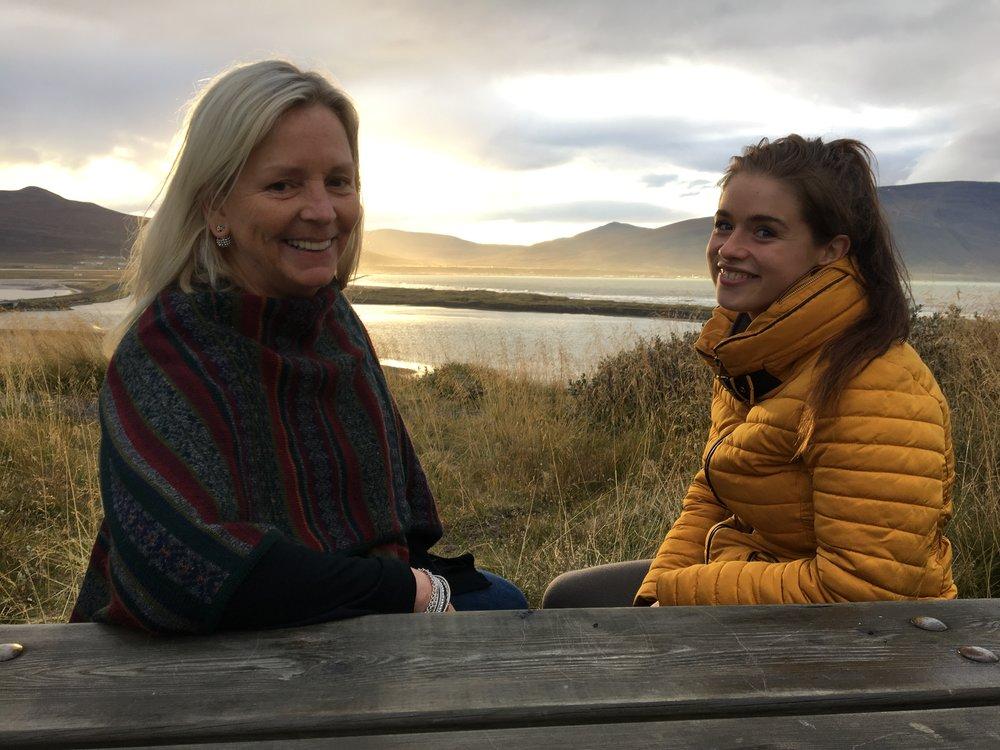 Erla og Allie, Iceland, 2017