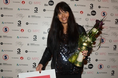 The Royalty award 2013 (The Swedish Film & TV Producers' Association) for promoting better gender balance and empowering female commercial directors in Sweden.