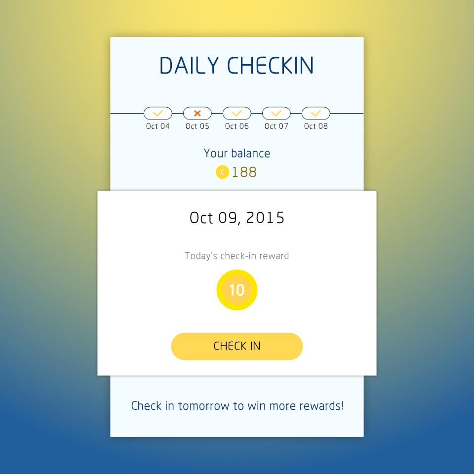 Daily Checkin