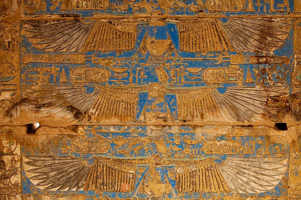 Karnak ceiling piece