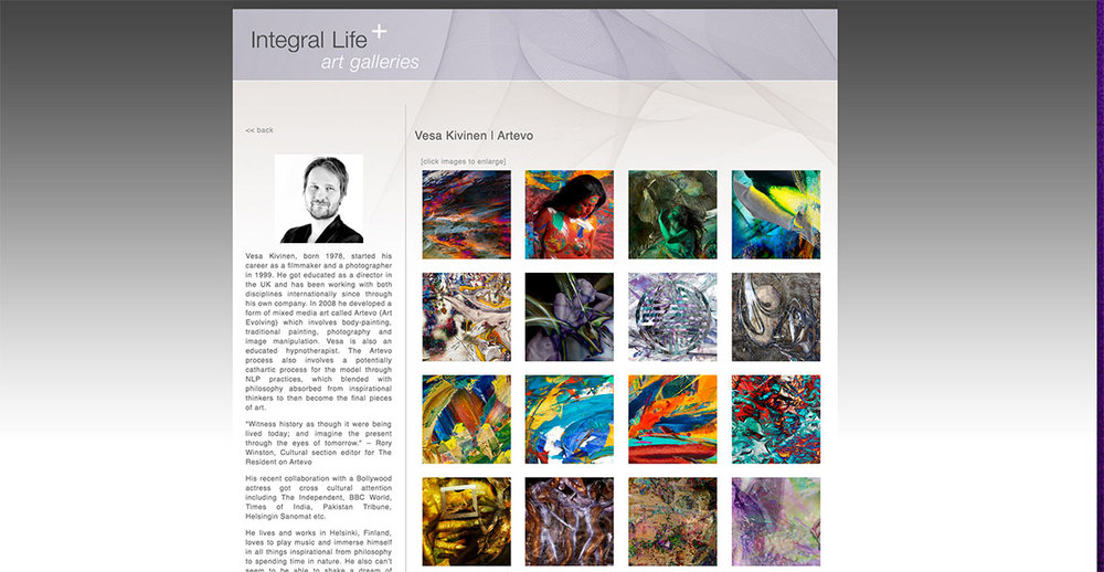 Integral Art Feature by Professor Michael Schwatrz