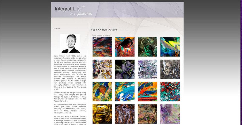 Integral Art Feature by Professor Michael Schwatrz