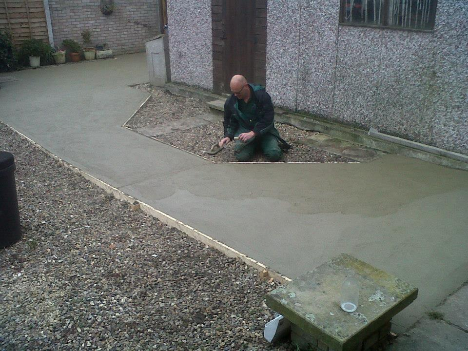 Concreting -