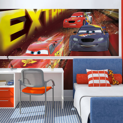 Disneys Cars Digital Wallpaper Mural Home Decor Hull Limited