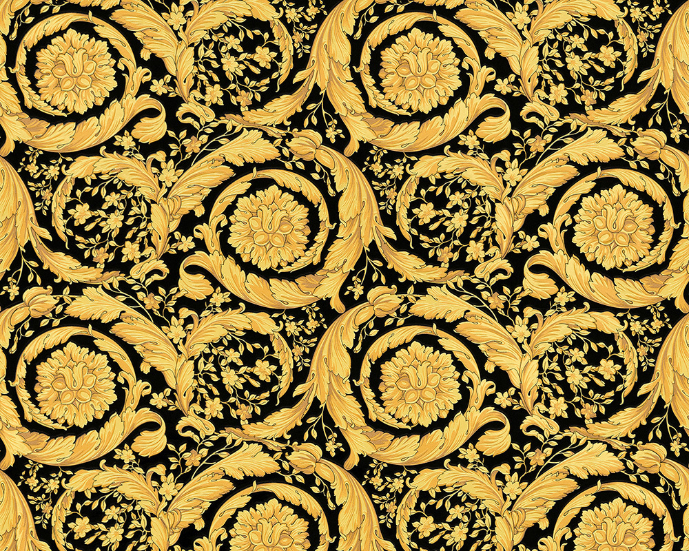 Sample Versace Home Barocco Flowers Luxury Wallpaper Wider Width  Colourways Home Decor Hull Limited