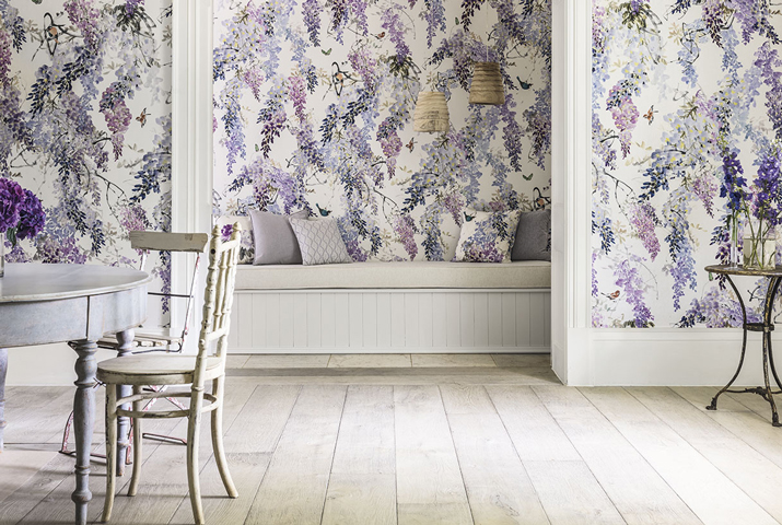 Sanderson Waterperry Wallpaper