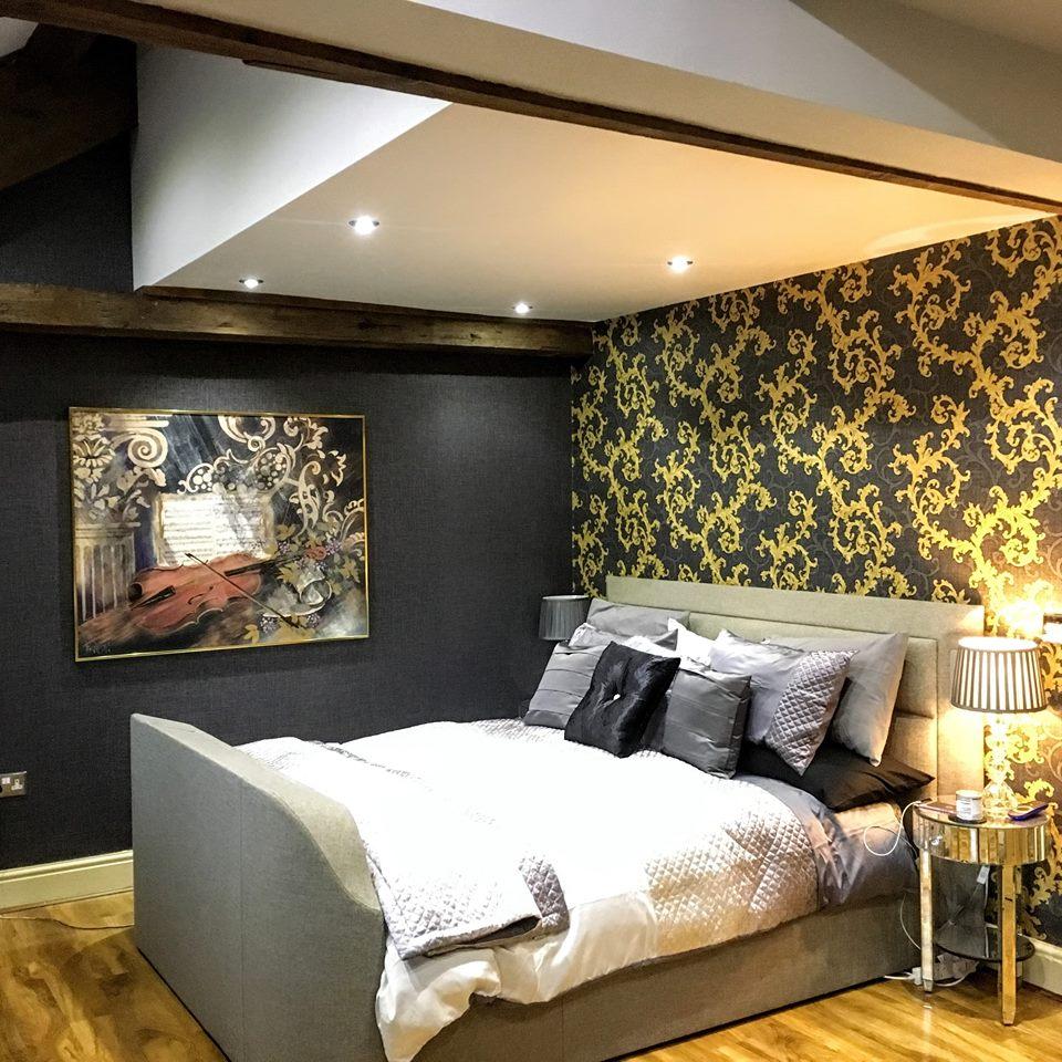 Versace home wallpaper decor