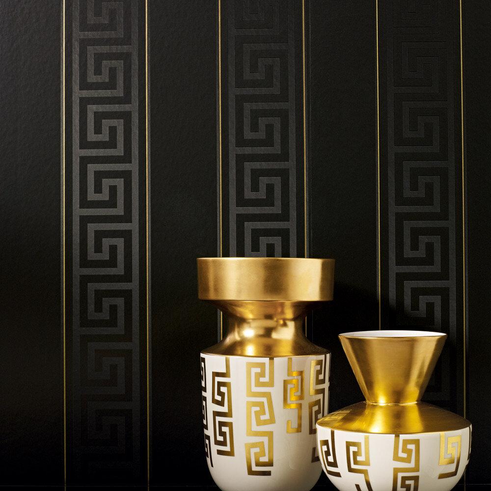versace greek key wallpaper borders 5 colourways home