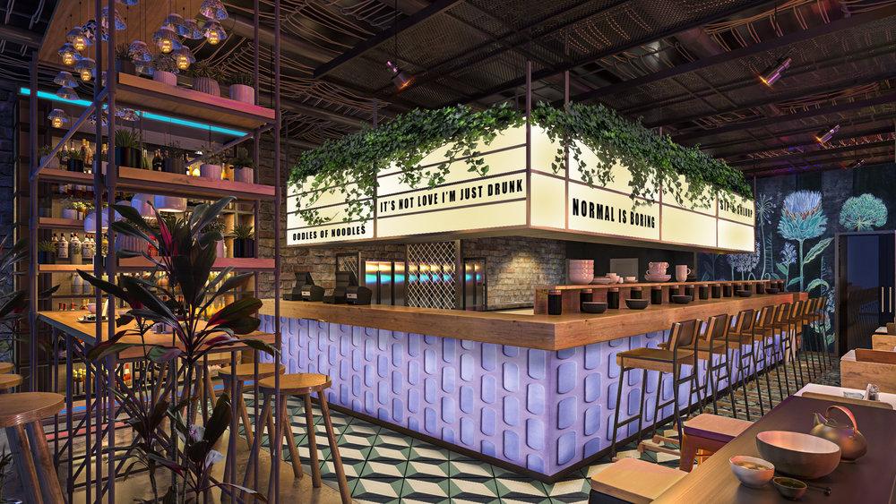 Whimsical Cocktail Bar