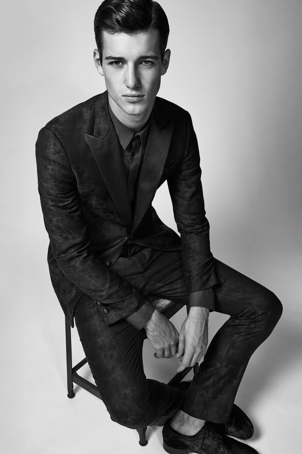 Robbie Beeser   of   New York Models     HEIGHT: 6'2"