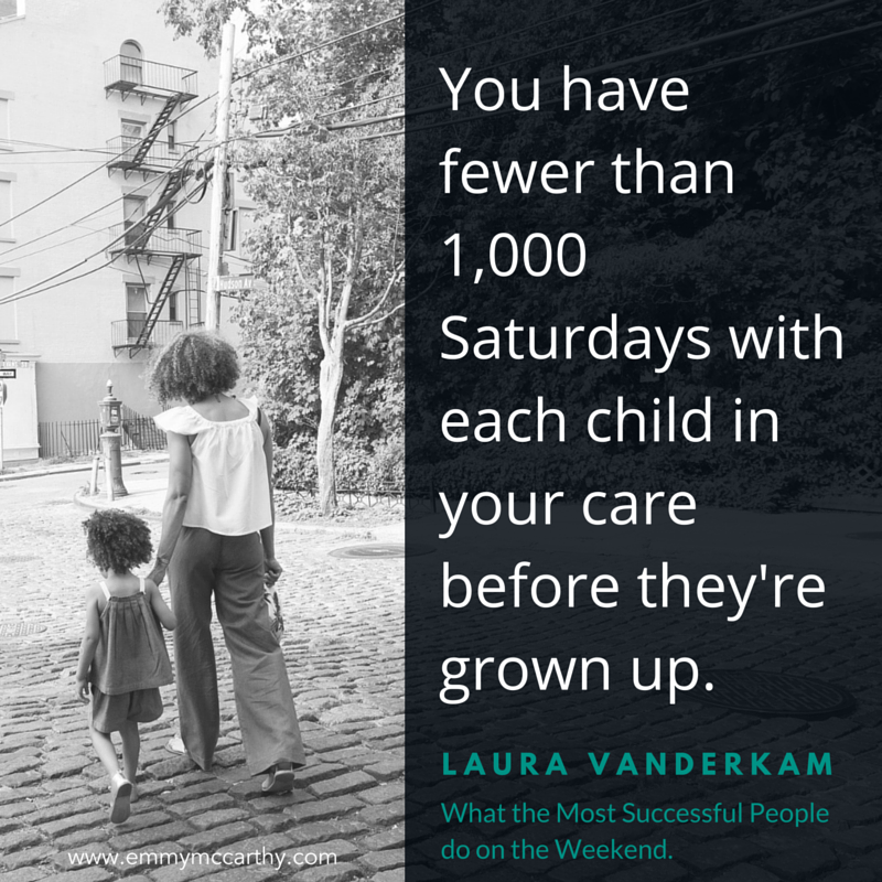 what the most successful people do on the weekend 1,000 Saturdays
