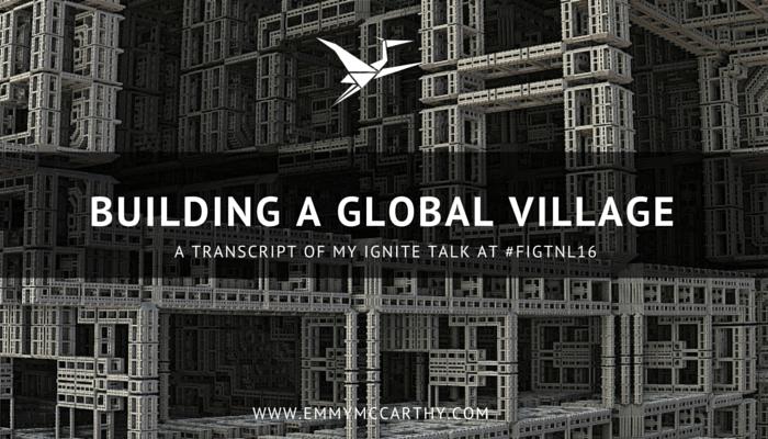 Building a Global Village FIGTNL16