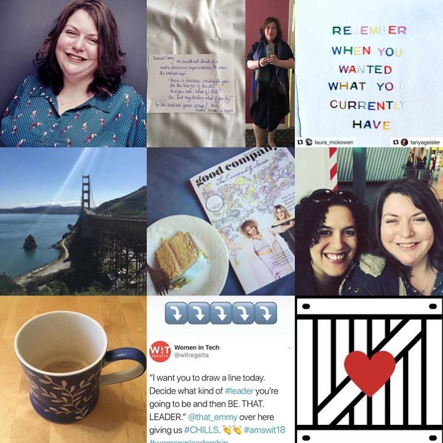 There are two words which sum up my #2018bestnine, #community and #leadership :: Over and over again, a repeating patten, like a heartbeat. The two can't be separated for me, and as these are the images that you liked most this year, I'm guessing that your heart beats to the same drum as mine. :: Listen, this life thing is difficult. We're presented with daily challenges, thousands of micro decisions. We need more connection, more belonging, more naps, we have no time. The only way we're going to survive is to find our community and hold on tight. :: My sense of community shifted this year, my work expanded and everything I had carefully constructed around me started to break apart to allow for that growth. It was brilliant and terrifying. It still is. I'm working through it. :: I don't have a word of the year yet, or a theme or an intention. But I have a beat, community+leadership, like a signal through the noise. I think I'll follow it a while longer.