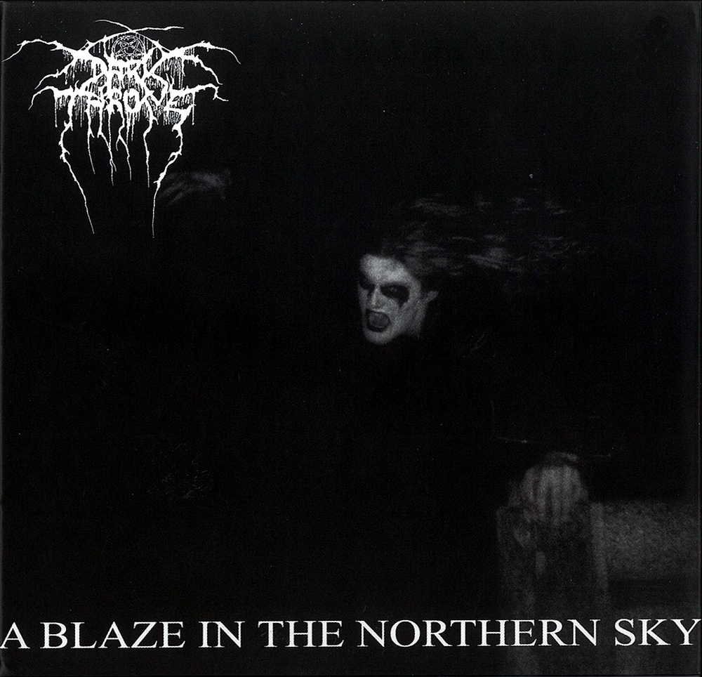 DARKTHRONE - A BLAZE IN THE NORTHERN SKY (PEACEVILLE RECORDS, 1992)