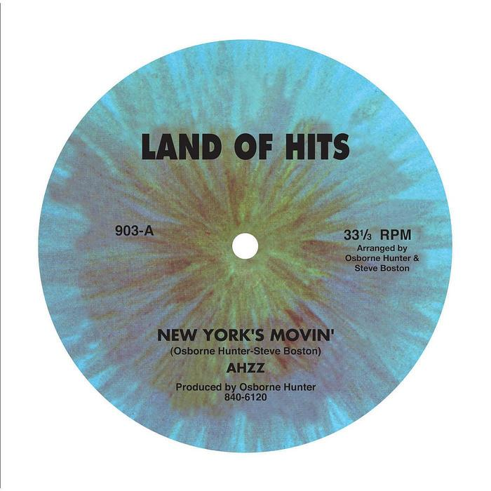 AHZZ ‎– NEW YORK'S MOVIN' (LAND OF HITS, 1981)