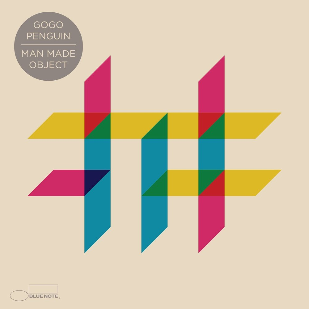 GOGO PENGUIN - MAN MADE OBJECT (DECCA RECORDS - BLUE NOTE, 2016)