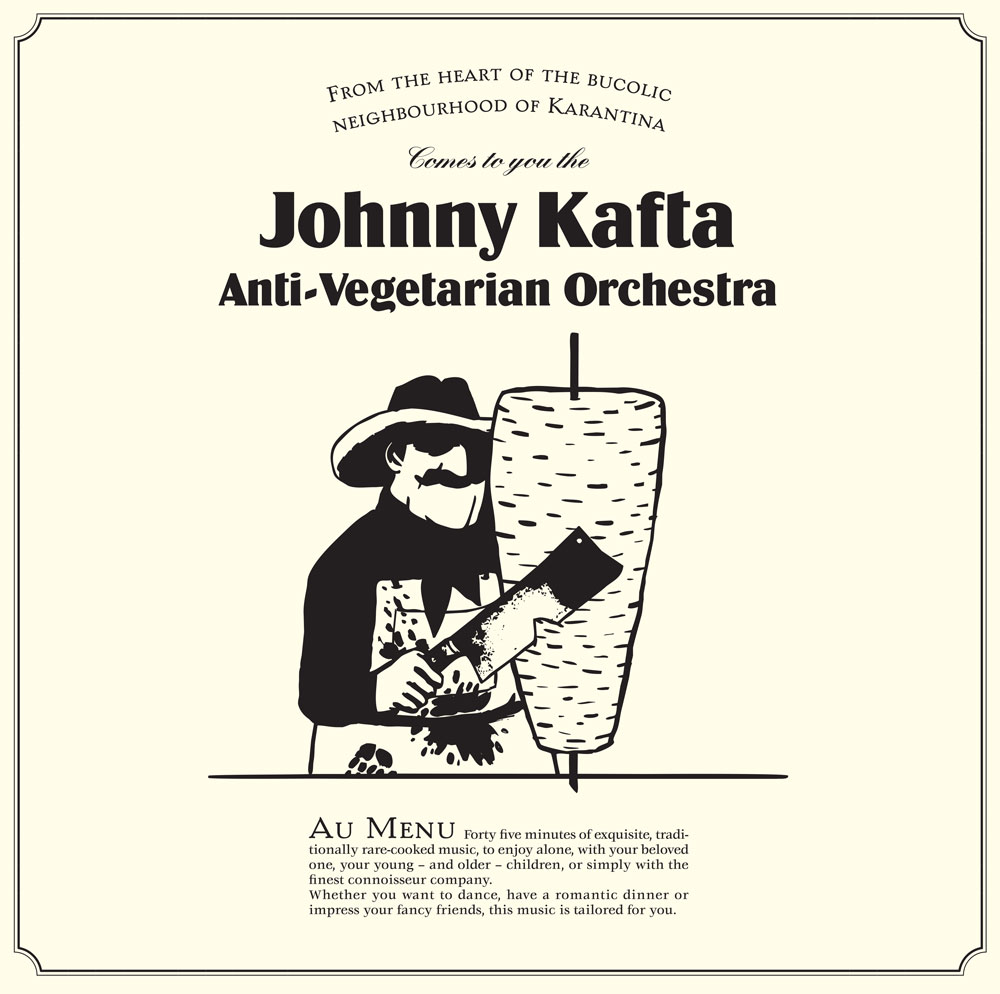 JOHNNY KAFTA - ANTI-VEGETARIAN ORCHESTRA (DISCREPANT, 2015)