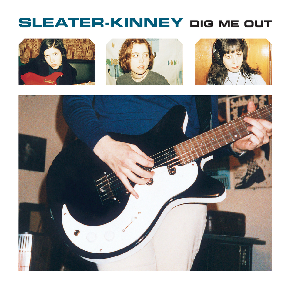 SLEATER KINNEY - DIG ME OUT (KILL ROCK STARS, 1998)