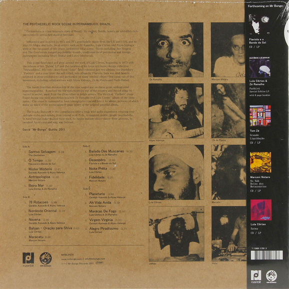 LULA CORTES - PSYCHEDELIC PERNAMBUCO (MR BONGO, 2009)