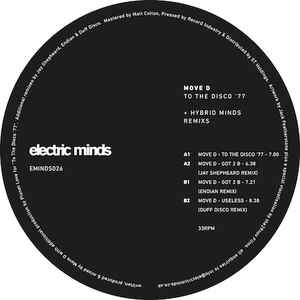 MOVE D - TO THE DISCO 77 (ELECTRIC MINDS, 2014)