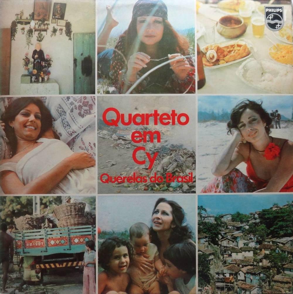 QUARTETO EM CY - QUERELAS DO BRASIL (PHILIPS, 1978)