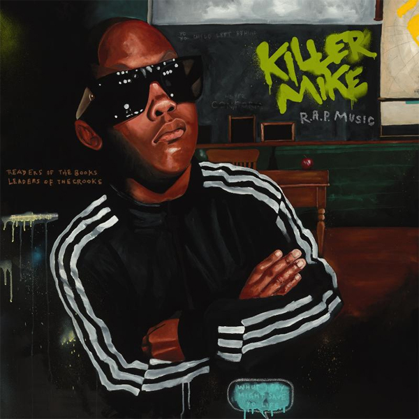 KILLER MIKE - R.A.P. MUSIC (WILLIAMS STREET RECORDS, 2012)