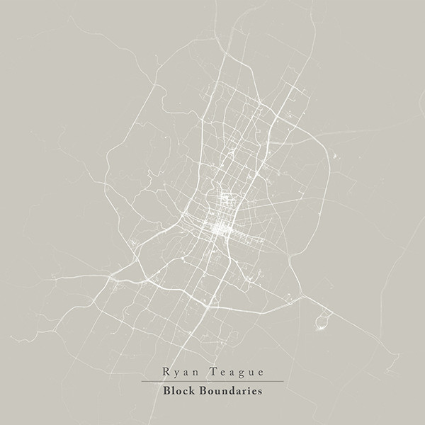 RYAN TEAGUE - BLOCK BOUNDARIES (VILLAGE GREEN, 2014)