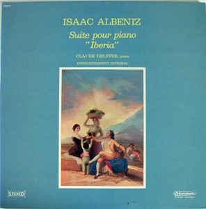 ISAAC ALBENIZ - IBERIA (PHILIPS, 1958)