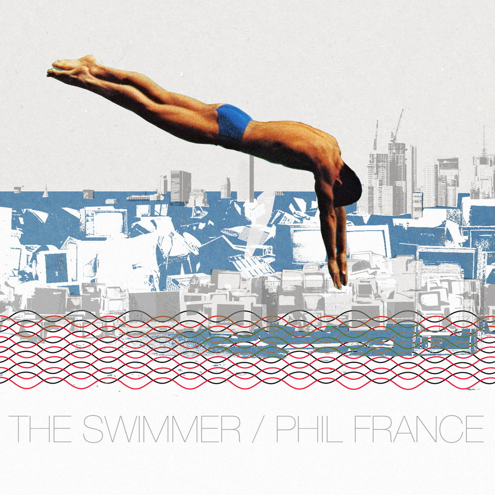 PHIL FRANCE - THE SWIMMER (GONDWANA, 2017)