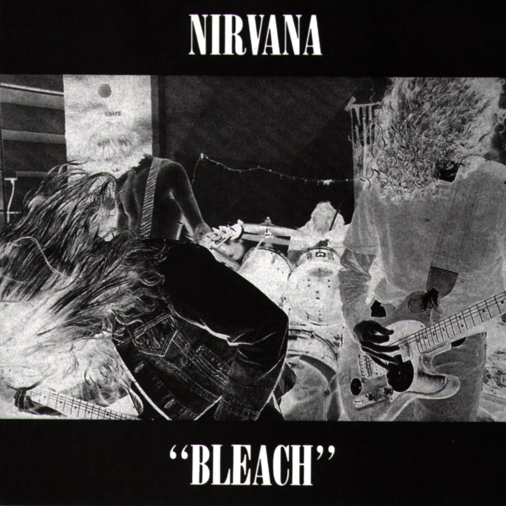 NIRVANA - BLEACH (SUB POP, 1989)