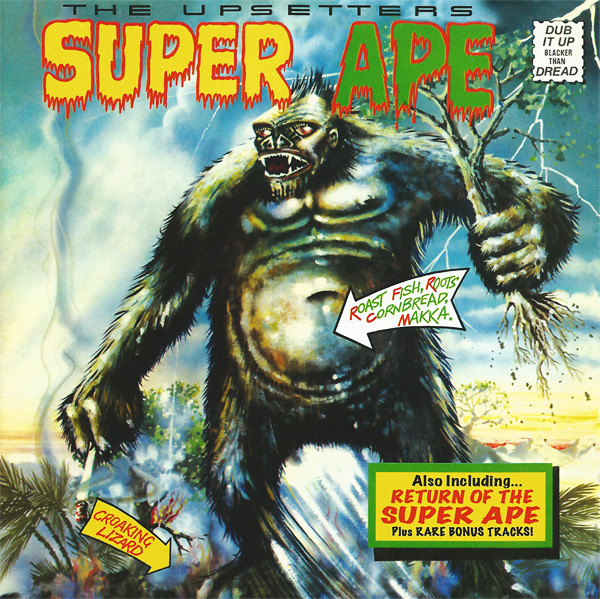 LEE SCRATCH PERRY - SUPER APE (DEF JAM, 1976)