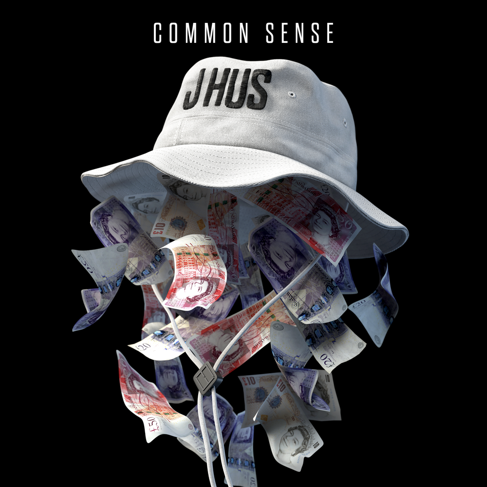 J HUS - COMMON SENSE (BLACK BUTTER, 2017)