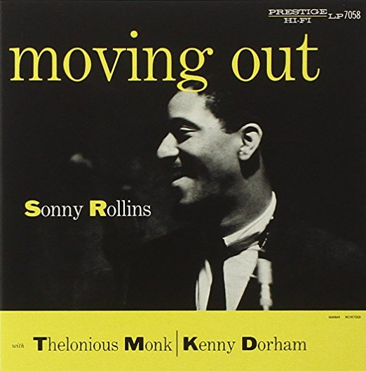 SONNY ROLLINS ‎– MOVING OUT (PRESTIGE, 1956)