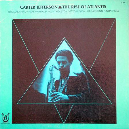 CARTER JEFFERSON - THE RISE OF ATLANTIS (TIMELESS MUSE, 1979)