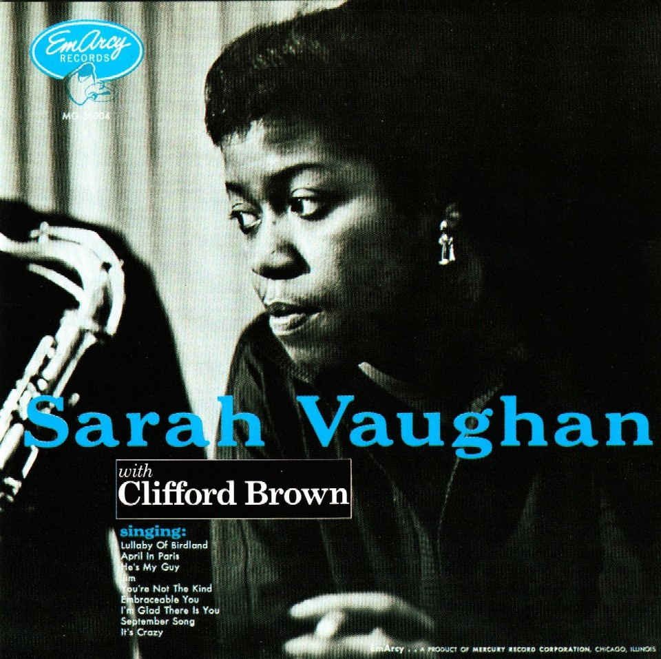SARAH VAUGHAN WITH CLIFFORD BROWN (VERVE, 1954)