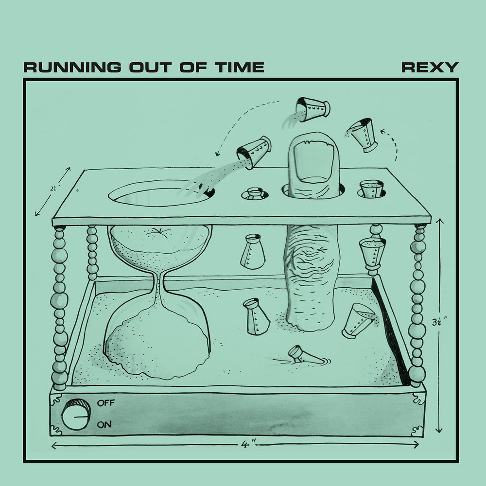 REXY - RUNNING OUT OF TIME (ALIEN RECORDS, 1981)