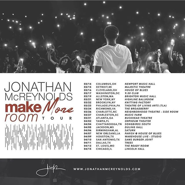 Lets do it again! Tickets go on sale this Friday, Nov. 16th. Pre-Sale tickets available TOMORROW! #MakeMoreRoomTour