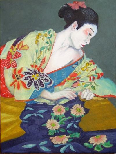 Reclining Geisha