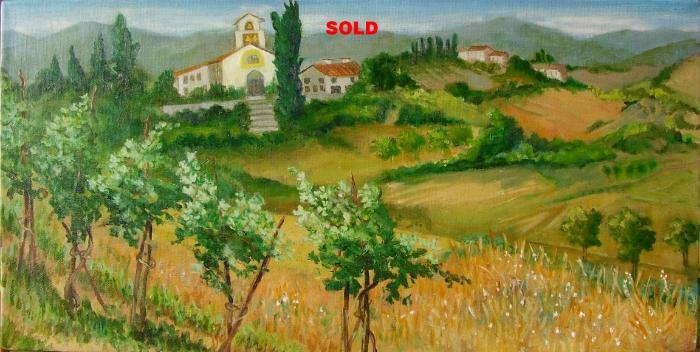 View of San Martino a Scopeto