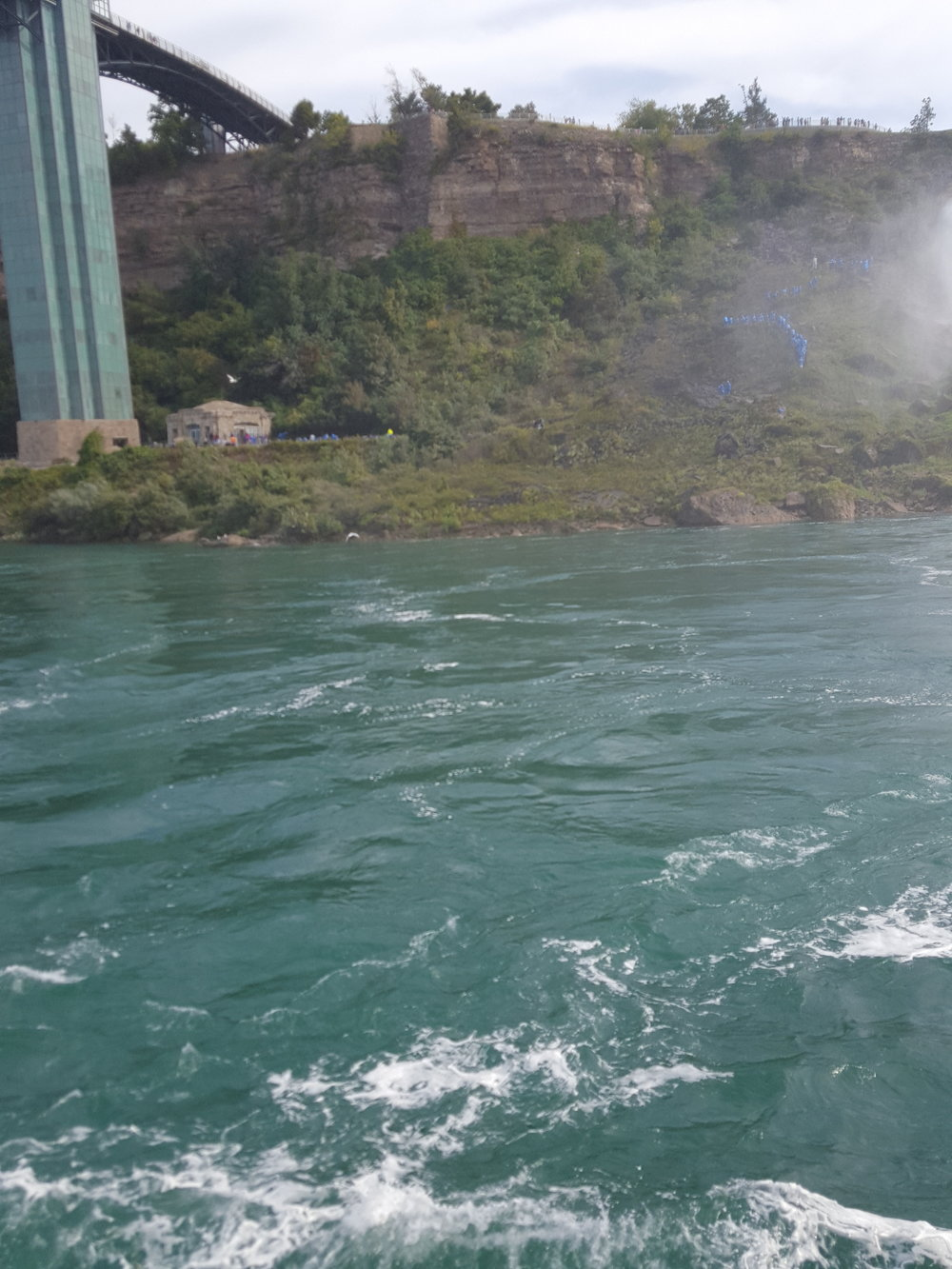 Hornblower cruise at Niagara Falls