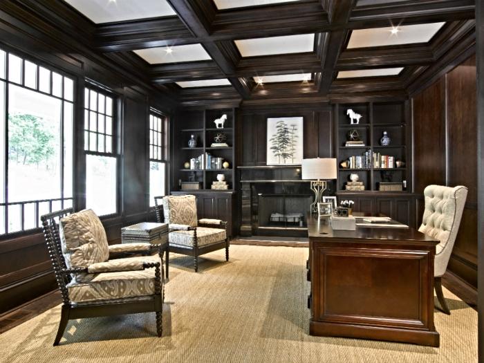 Mahagony home office in Tarrytown, NY