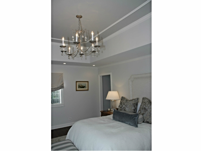 Master bedroom in a Scarsdale, NY house