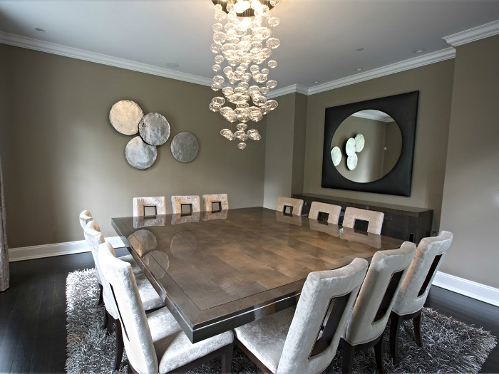 Modern Dining Room in Irvington,NY