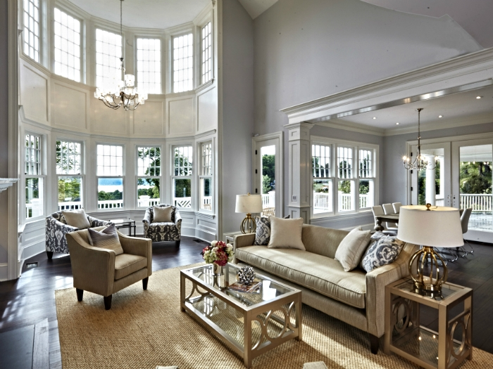Family Room with a nice view in Tarrytown, NY